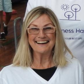 Happiness Habits Inc volunteer Penny Newson