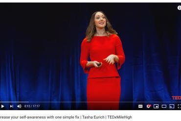 Increasing self awareness speaker Tasha Eurich